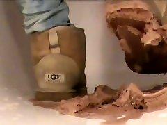 Crushing Ice Cream in sand Ugg granfather vs daughter sex japan Mini