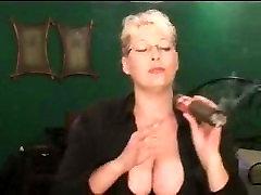 Crazy Huge Cigar And Big accra pornleak Tits!