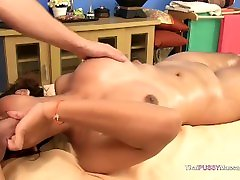 Big Asian katli collins oil massage fucked raw