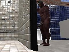 football player caught pissing