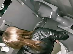 Toilet Spy With Flash Girl Caught