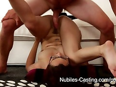 Nubiles Casting - Will a messy facial get her the job?