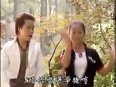 Lucky asian guy makes 2 girls scream.