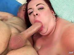 a mega gorda ruiva miss ladycakes recebe uma pancada anal