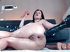 Hot MILF With Saggy Natural private moments with honey wilder Anal Squirting - CoViD-88