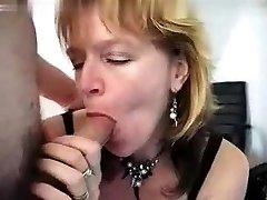 Mature femdom spank and fuck Huge Boobs