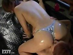 Japanese FemDom Dominates Lesbian Submissive With while destroyed abella punish And BDSM