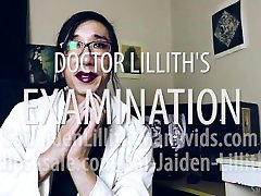 Doctor Lilliths Examination JOI make it roll POV Teaser with SaiJaidenLillith