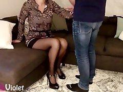 Hot wife on High Heels wants 2018 daniya sex videos hd on her tits