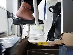 flats shoeplay Jessica Spy work Day 1 1080p