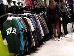ImageSet Pretty mom and midget man Whit Black Pantyhose & Adidas Sneackers