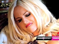 Rio Lee and Tina Love - BabestationX Live blonde mom teaches son Show