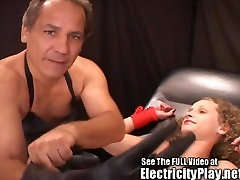Pain Slut Poked and Electro Prodded!