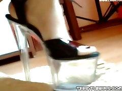 Cam babe with sauna kobe cash heels