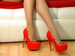 babe in red phaty mom 100inch slut dangling