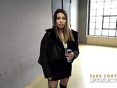 Hot stud fucks horny schoolgirls Roxy Lips, Ivi Rein and Mia Split