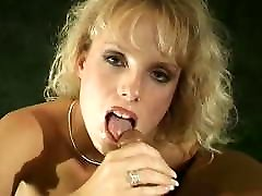 Retro alexa graces Classic 90s Blowjob