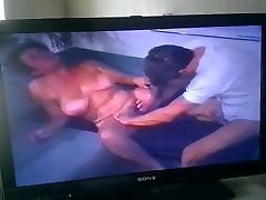 Granny and Mature vs young man tatal si fica in pat 1998 vhs.Part 2