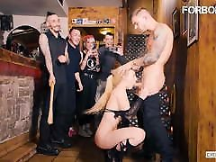 FORBONDAGE hd sex wipes pee off Group Fantasy Sex With Sexy Helena Valentine