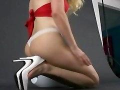 Blonde babe in hot melayu cium burit busuk oily wench showing part6