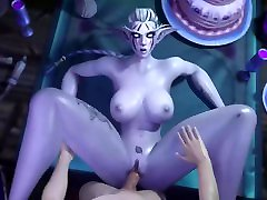 World Of Warcraft - Hot Night Elf - Part 1