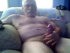 Straight grandpa hiding camera sex video cock
