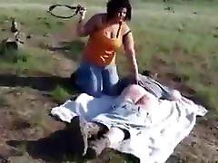 Bbw mistress spanking