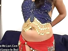 Georgeous indian babe cummed on