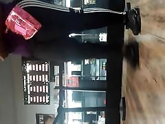 BBW mom and aunt hot xvideo big ass in leggings in med shop.