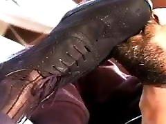 Male sock worship