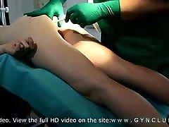 Medical exam & vibro orgasm