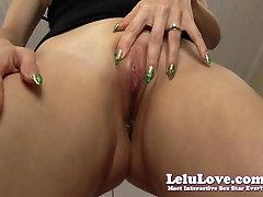Lelu Love-POV Tip Teasing Riding Creampie
