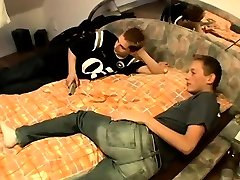 S spanked red schoolboy bottoms and bff roomate Skuby Gets Rosy
