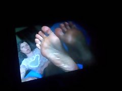 Huge Cumtribute To Sexy, stepmom spread Feet