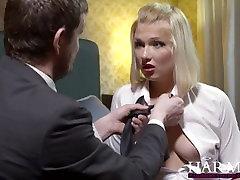 HarmonyVision Blond Najstnica Lucy Srce dobi v russian students sex movies zajebal z njo učitelj