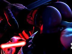 Talon Nice Riding on Hard Dick Star Wars 10 min Full HD Watermark free