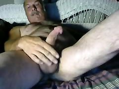 Old man cum on cam 38