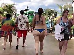 Big vip massag dubi Walking . Blue Bikini