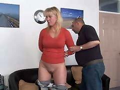 English milf spanking