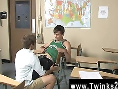 Twink feet demand Ashton Rush asks for condom Brice Carson are at school practicing Romeo and