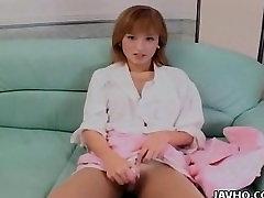Mikavna dekle Yuu Katagiri igrače sama necenzurirano