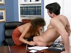 Sarah Young fucked to orgasm by Peter North