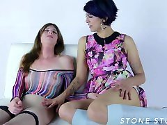 TS on GG Taboo Roleplay Orgy with Arabelle Raphael, TS Mandy Mitchell, Delia De Lions & Bianca Stone