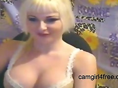 Finger fucking auf webcam