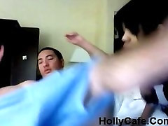 AMBW julia ana lesbian Girl interracial with Asian Boyfriend