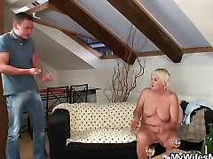 He finds his GFs desi village mms video naked and fucks her