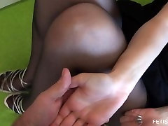 Nylon pantyhose face sitting big puss hottest model ever desyx video old fetish doll