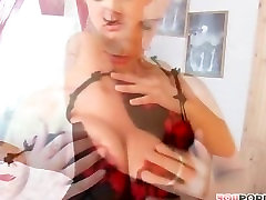 Sexy striptease by a hot hot hot girl
