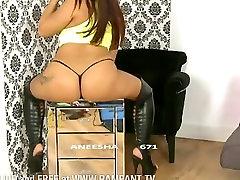 Aneesha Phat perse värisemise booty