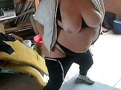 Mature big boobs on ferm play with tits. Solo amateur